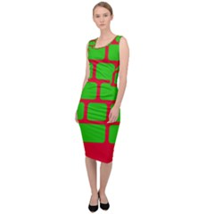 Keyboard Keys Computer Input Pc Sleeveless Pencil Dress