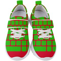 Keyboard Keys Computer Input Pc Kids  Velcro Strap Shoes by Pakrebo