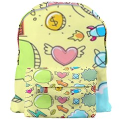 Cute Sketch Child Graphic Funny Giant Full Print Backpack