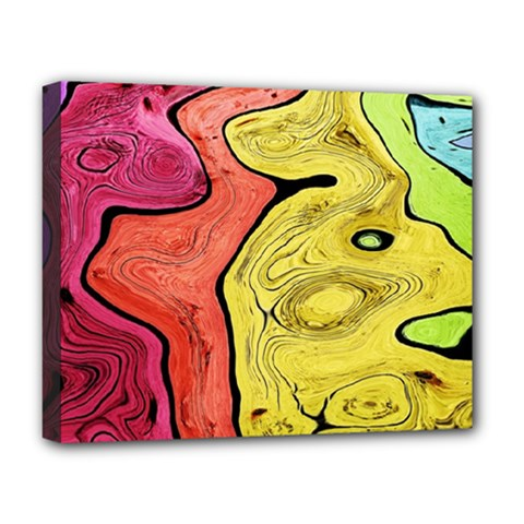 Pattern Background Abstract Deluxe Canvas 20  X 16  (stretched)
