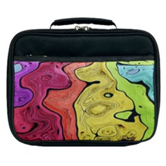 Pattern Background Abstract Lunch Bag