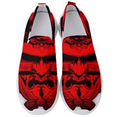 Oni Warrior Samurai Graphics Men s Slip On Sneakers by Jojostore