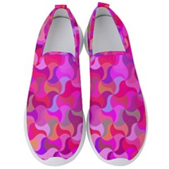 Mosaic Cute Men s Slip On Sneakers by Jojostore