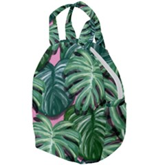 Painting Leaves Tropical Jungle Travel Backpacks