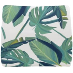 Plants Leaves Tropical Nature Seat Cushion by Alisyart