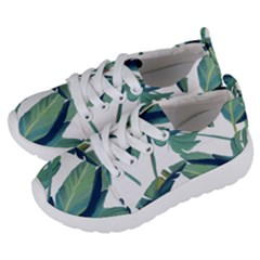 Plants Leaves Tropical Nature Kids  Lightweight Sports Shoes by Alisyart