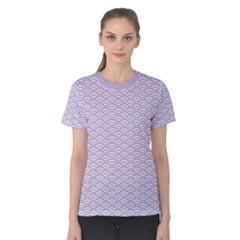 Circly Waves  Women s Cotton Tee