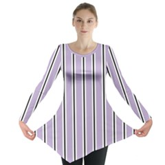 Classic Stripes  Long Sleeve Tunic  by TimelessFashion
