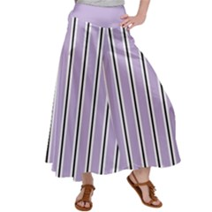 Classic Stripes  Satin Palazzo Pants by TimelessFashion