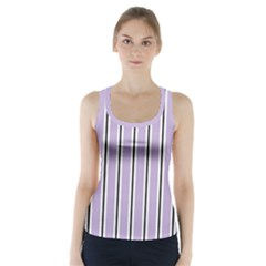 Classic Stripes  Racer Back Sports Top by TimelessFashion