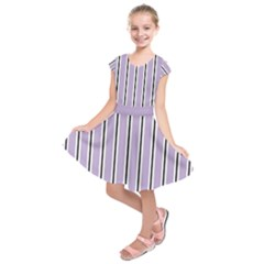 Classic Stripes  Kids  Short Sleeve Dress by TimelessFashion