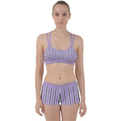 Classic Stripes  Perfect Fit Gym Set