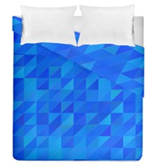 Pattern Halftone Geometric Duvet Cover Double Side (queen Size) by Alisyart