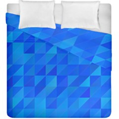 Pattern Halftone Geometric Duvet Cover Double Side (king Size)