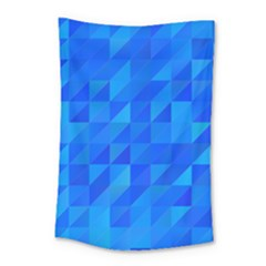 Pattern Halftone Geometric Small Tapestry
