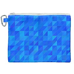 Pattern Halftone Geometric Canvas Cosmetic Bag (xxl) by Alisyart