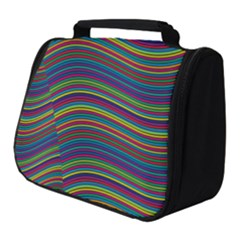 Ornamental Line Abstract Full Print Travel Pouch (small) by Alisyart