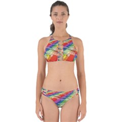 Perspective Background Color Perfectly Cut Out Bikini Set by Alisyart