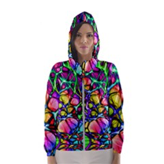 Network Nerves Hooded Windbreaker (women)