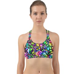 Network Nerves Back Web Sports Bra by Alisyart