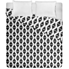 Triangle Seamless Pattern Duvet Cover Double Side (california King Size)