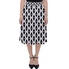 Triangle Seamless Pattern Classic Midi Skirt