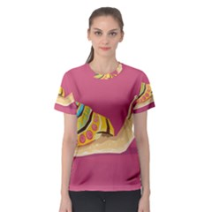 Snail Color Nature Animal Women s Sport Mesh Tee by Alisyart