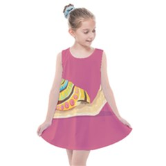 Snail Color Nature Animal Kids  Summer Dress by Alisyart