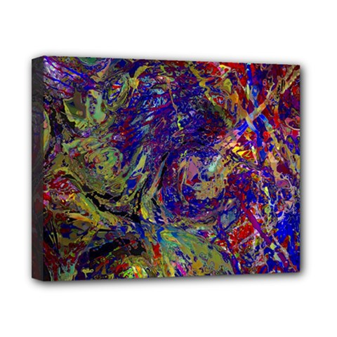 Crazy Colors  11 Canvas 10  X 8  (stretched)
