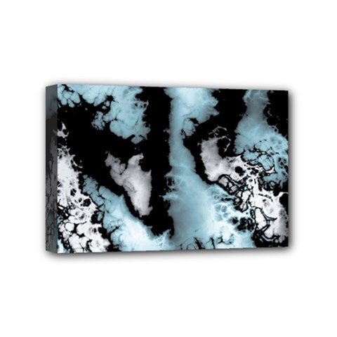 Winter Fractal 4 Mini Canvas 6  X 4  (stretched)