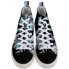 Winter Fractal 4 Men s Mid Top Canvas Sneakers