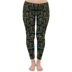 Love My Leggings And Top Ornate Pop Art`s Collage Classic Winter Leggings