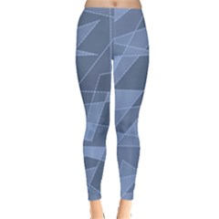 Lines Shapes Pattern Web Creative Leggings