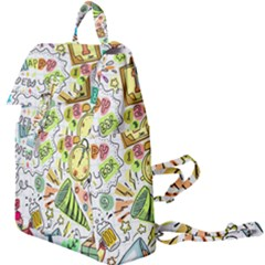 Doodle New Year Party Celebration Buckle Everyday Backpack
