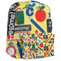 Fabric Cloth Textile Clothing Giant Full Print Backpack View3