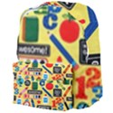 Fabric Cloth Textile Clothing Giant Full Print Backpack View4