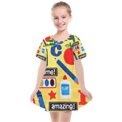 Fabric Cloth Textile Clothing Kids  Smock Dress by Pakrebo