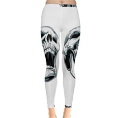 Skull Screaming Inside Out Leggings