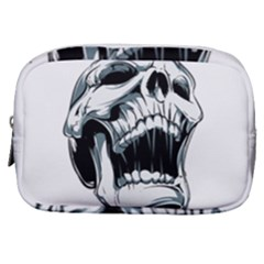 Skull Screaming Make Up Pouch (small)