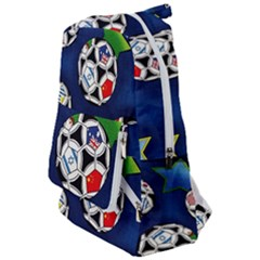 Textile Football Soccer Fabric Travelers  Backpack