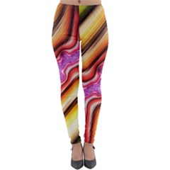 Fractal Mandelbrot Art Wallpaper Lightweight Velour Leggings