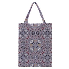 Triangle Pattern Kaleidoscope Classic Tote Bag