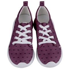Nodes Purple Texture Women s Lightweight Sports Shoes