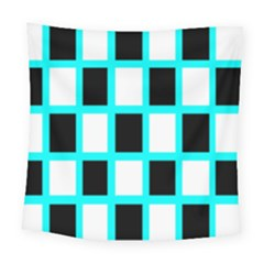 Squares Pattern Square Tapestry (large) by AnjaniArt