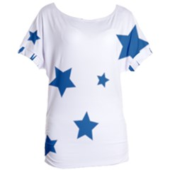 Star Women s Oversized Tee