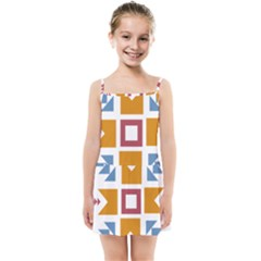 Star Flag Unique Kids  Summer Sun Dress by AnjaniArt