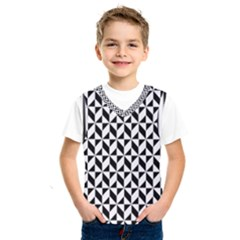 Seamless Abstract Geometric Pattern Kids  Sportswear by AnjaniArt
