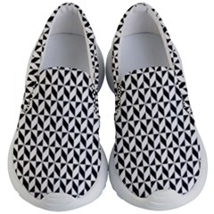 Seamless Abstract Geometric Pattern Kids  Lightweight Slip Ons by AnjaniArt