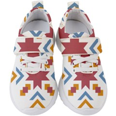 Star Flag Kids  Velcro Strap Shoes by AnjaniArt