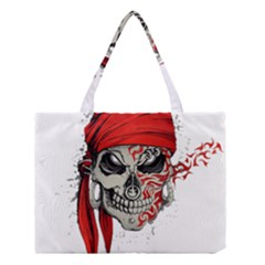 Skull Medium Tote Bag